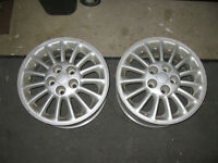 Pair of 16 inch rims off a 2001 chev impala also fits Monte Car