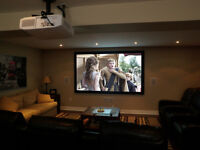 Network Cabling/ TV- Wall Mounting/ Home Theatres