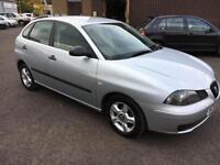 5506 Seat Ibiza 1.2 12v Reference Grey 5 Door 53711mls MOT 12m