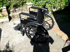 Wheelchair used once!
