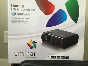 LUMINAR 4K Home Projector & Screen
