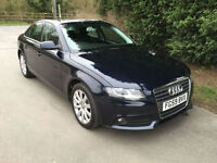 59 REG AUDI A4 2.0 TDI SE 2.0 TURBO DIESEL 6 SPEED MANUAL