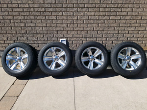 Ram 1500 sport rims / winter tires