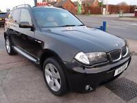 2004 BMW X3 3.0 SPORT 5D AUTO 228 BHP