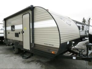 2018 Forest River WILDWOOD WDT197BH-FSX