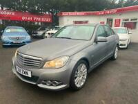 2011 Mercedes-Benz C Class C180 BlueEFFICIENCY Elegance 4dr Auto SALOON Petrol A
