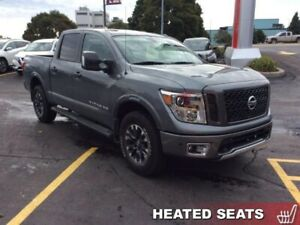2018 Nissan Titan PRO-4X Crew  - Navigation -  Heated Seats - $3