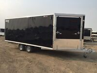 "2016 Mission Trailers 101x18+52"" V-Nose Mes DL"