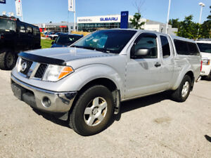 2006 NISSAN FRONTIER EXTENDED CAB 4X4 COLD AIR MATCHING CAB