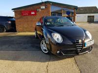 2009 Alfa Romeo MiTo 1.4TB 120bhp Veloce MANUAL PETROL FULL SERVICE HISTORY