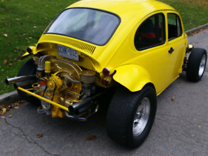 Fun toy for sale or trade 1975 vw bug