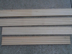 Wood Trim Fluted Door Casing