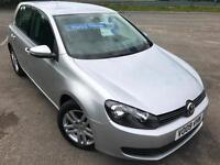 VW GOLF 2.0TDI CR SE DIESEL £34 WEEK NO DEPOSIT CD/MP3 A/C 5DR HATCH 2009