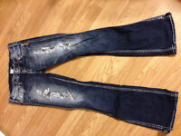 Silver jeans barely worn size 29 waist
