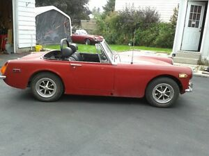 1972 Jensen Healey for my '94 corvette plus maybe '72 MG midget