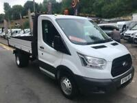 2017 66 NEW SHAPE FORD TRANSIT DROPSIDE TIPPER / LOW MILES