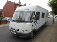 2002 Hymer B654 A Class Rear Fixed Bed Motorhome For Sale Ref 15209