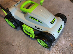 """LawnMaster 18"""" 3 in 1 Electric Lawnmower"""