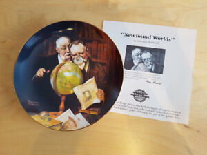 Bradford Exchange Complete Rockwell's Golden Moments Plate Set