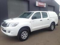 2013 (63) Toyota Hilux 2.5 D4-D HL2 Double Cab 4x4 Diesel Pickup *35k*