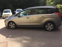 2011 PEUGEOT 5008 EXCLUSIVE TURBO MPV 7 SEATER PAN ROOF