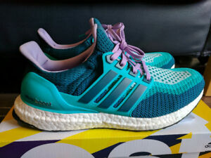 DS Adidas Ultraboost 2.0 Women Turquoise AF5140 - Size 9