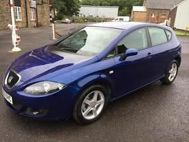 0606 Seat Leon 2.0 TDI Reference Sport Blue 5 Door 68801mls MOT Jun 2017