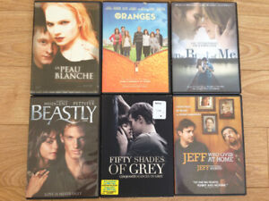 LOT DE 6 DVD FILMS ***PRIX FERME