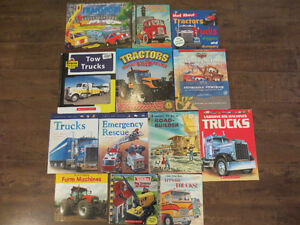 Assorted Truck Books