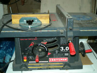 "Craftsman 3.0  10"" Table Saw"