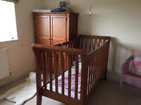 Designer wooden nursery furniture set
