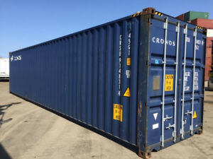 NB 40' HC Used Shipping Container - Lease to Own