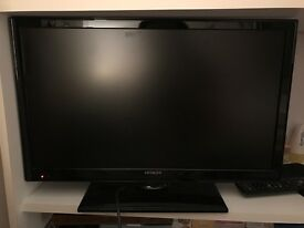 "Hitachi 17"" Television with Google Chrome Box"