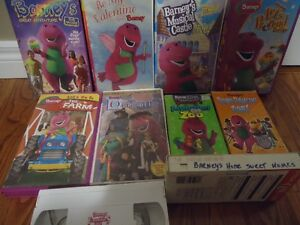 Barney VHS Movies