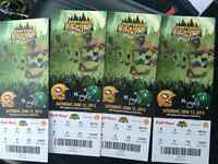 Northern kick off tickets section K row 5