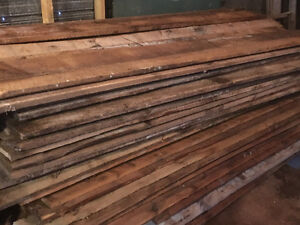 Wanted ::: barn lumber , rough cut boards