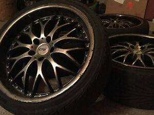 Rims on Tires 19 inch Kitchener / Waterloo Kitchener Area image 2