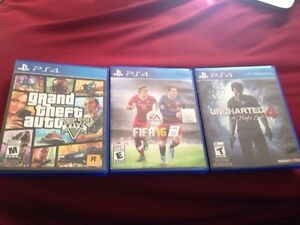 GTA 5 and uncharted 4 for sale