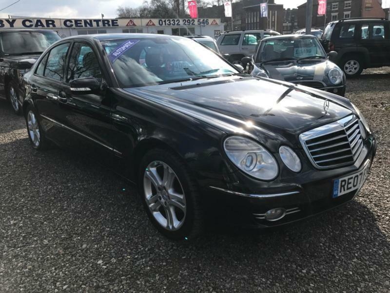 2007 mercedes benz e class e280 cdi avantgarde 4dr tip auto diesel in derby derbyshire gumtree. Black Bedroom Furniture Sets. Home Design Ideas