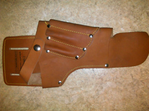 leather drill holster