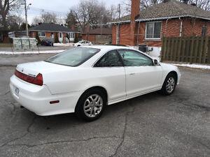 2002 Honda Accord EX V6 Coupe (2 door)