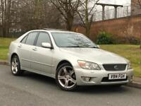 1999 Silver Lexus IS 200 2.0 SE Petrol Manual Saloon - P/X Welcome