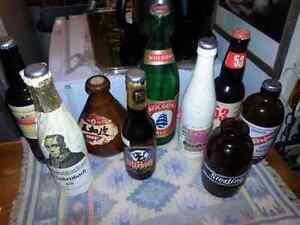 Collection de 135 bouteilles de bière