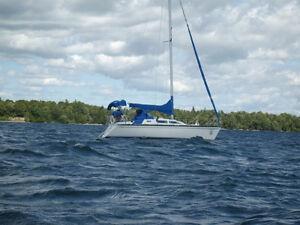 A Qui La Chance!!!!!Très beau voilier, performant et confortable