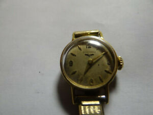 Longines Lady Solid 18k Gold vintage watch (sell/trade)