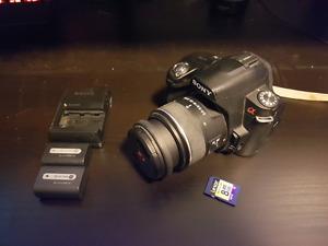 Sony a390 DSLR camera