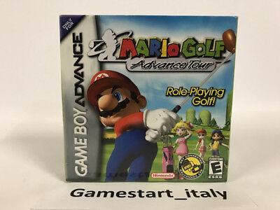 MARIO GOLF ADVANCE TOUR  - NINTENDO GAME BOY ADVANCE GBA - NEW SEALED NTSC usato  Italia
