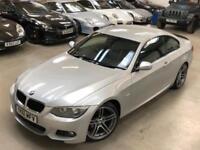 2011 BMW 3 Series 2.0 320d M Sport Coupe 2dr Diesel Manual (125 g/km, 184