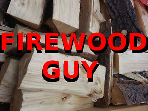 Firewood, 1/2 cord of wood. (Equal to two pickup truck loads.)
