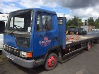 Leyland daf ideal export flatbed recovery must go as need space in yard